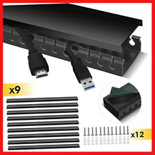 Cable Trunking, Stageek Cable Management System Kit Open Slot Cable Raceway Duct