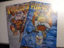 "Teenage Mutant Ninja Turtles #48 #49 (1992) Laird ""Shades of Grey"" combo 1 and 2"