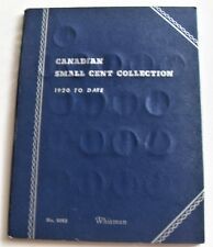 CANADA 1920-1972 SMALL CENT COLL. COMPLETE SET IN WHITMAN ALBUM