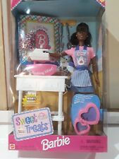 Sweet Treats Barbie Doll AA #20955 New Never Removed from Box 1998 Mattel