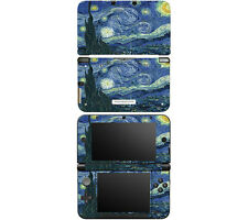 Vinyl Skin Decal Cover for Nintendo 3DS XL LL - Starry Night