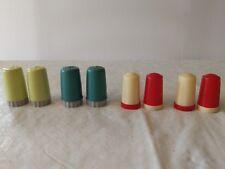 Retro Plastic Salt and Pepper Shakers