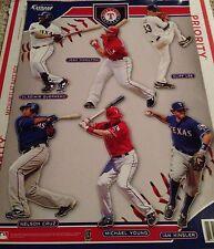 2010 MLB Texas Rangers Team Fathead Collection