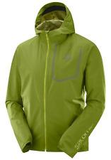 Salomon Men's Bonatti Pro WP Running Jacket Avocado