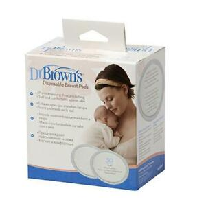 2 x Dr Browns Disposable Breast Pads 30pk (Total 60 Pads)