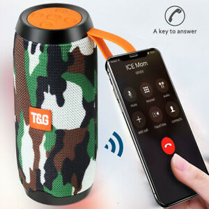 Tragbarer Bluetooth Lautsprecher Musik box Stereo Wireless Subwoofer SD USB