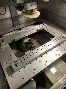 Wire EDM Rail system (Sodick AQ537L)