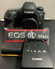 Canon EOS 6D Mark II + Battery Grip BG-E21 Original Boxes & Accessories Pristine
