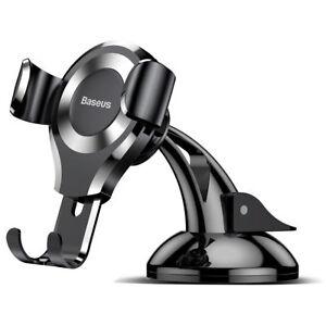 Baseus 360°Rotation Universal Car Gravity Auto Lock Phone Holder Mount Cradle