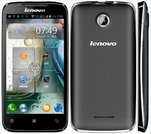"Lenovo A390 3G Dual SIM 4GB ROM 5MP Wi-Fi Bluetooth GPS Android Mobile Phone 4"""