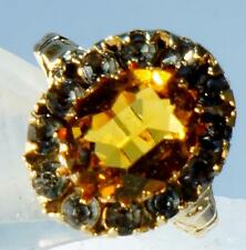 Antique Topaz and Spinel Ring  10 K Size 5