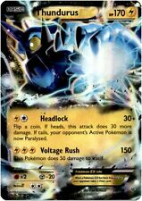 Pokemon Roaring Skies Thundurus-EX - 26/108 - Holo Rare EX Card