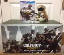 CALL OF DUTY WWII WW2 PRO VALOR COLLECTION STATUE collectors EDITION PS4