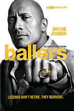 Ballers: The Complete First Season (DVD, 2016, 2-Disc Set)