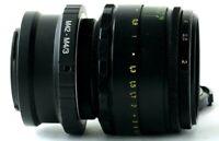 Portrait Lens Helios 44-2 2/58mm +adapter M42-M4/3 Micro 4/3 Olympus,Panasonic🎥
