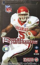 2008 Topps Rookie Progression Football Hobby Box - Factory Sealed