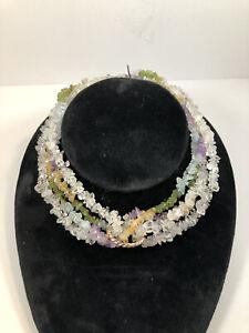 14K Multi Gemstone Necklace