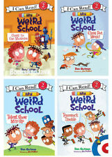 I Can Read Level 2 My Weird School Goes to Museum,Class Pet Mess+(4 Paperbacks)