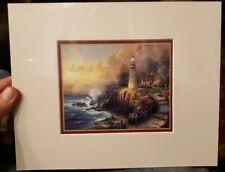 The Light of peace Thomas Kinkade print 8x10 frame