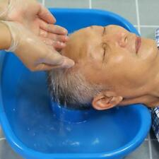 Bandeja de lavado Champú plástico Cuenca Fregadero cómodo lecho hairwash minusválidos
