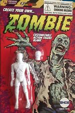 Create Your Own Zombie Previews Exclusive 4 inch Action Figure.