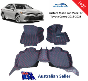New Toyota Camry 2018-2021 Fully Surrounded Custom Made Car Floor Mats/Carpets
