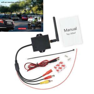 WiFi Car Rear View Wireless Video Transmitter Receiver Module Kits Plastic Black