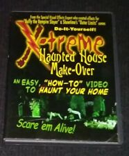 X-treme Haunted House Make-Over DVD Easy How to Haunt Your Home Halloween