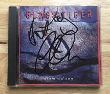 "GLASS TIGER SIGNED AUTOGRAPHED ""DIAMOND SUN"" CD! ALAN FREW +2!"