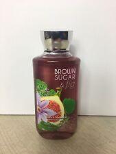 Brown Sugar Fig Bath Body Works Shower Gel NEW 10 Fl Oz Shea Vitamin E