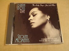 CD / DIANA ROSS LIVE - STOLEN MOMENTS