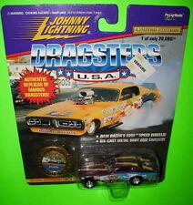 Johnny Lightning Dragsters Snowman 1-21017 Gene Snow Series 1 Purple MOC 1997