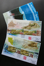Malaysia Rivers 2018 Monkey Waterfall Tourism Ship (special FDC) *signed *rare