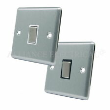 1-Gang Brushed Light Switche Home Electrical Fittings