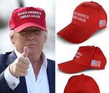 Donald Trump Hat Mega Make America Great Again Red Cap USA Flag Adjustable US