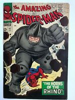 Amazing Spider-Man #41 - 1st App of Rhino Marvel Spidey ASM Comics FN