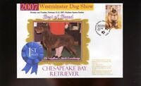 WESTMINSTER DOG SHOW 1st PLACE BEST OF BREED SOUV COVER CHESAPEAKE BAY RETRIEVER