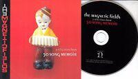 THE MAGNETIC FIELDS 50 Song Memoir Sampler 2017 UK 5-trk promo CD sealed