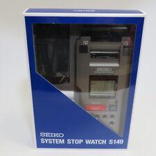 Seiko SVAS007 printer integrated system stopwatch From Japan