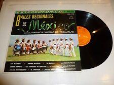 CON EL MARIACHI VARGAS DE TECALITLAN - Bailes Regionales De Mexico - Mexican LP