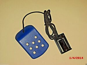 Treadmill Safety Key BLUE NordicTrack EXP 2000 OEM Original