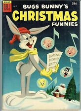 Bugs Bunny Christmas Funnies 5 Dell Giant Comic VG ( or Better)  Warehouse 1954