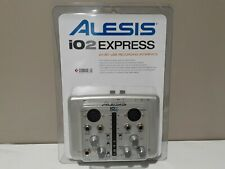 Alesis iO2 EXPRESS 24 BIT Digital Recording Interface NEW IN PACKAGE
