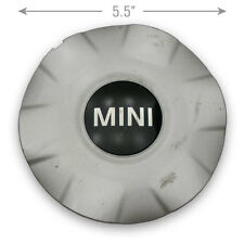 "1 OEM 07-13 Mini Cooper 6770999 15"" 6 Spoke Wheel Center Caps Hubcap Silver"