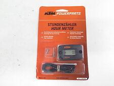 Genuine KTM Powerparts Hour Meter (OEM SXS SX-F EXC XC-F XC-W MXC Hourmeter)