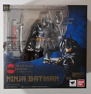 Ninja Batman S.H. Figuarts Bandai Tamashii Nations Action Figure New Genuine