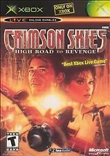 CRIMSON SKIES - HIGH ROAD TO REVENGE rare XBOX Game FIGHTER PILOTS