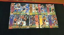 1995 AFL SELECT SERIES 1 TRADING CARDS ROOKIE CARD 10 CARD SET
