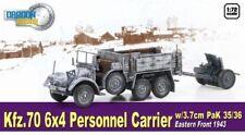 Dragon Armor 1/72 Kfz.70 6x4 Personnel Carrier w/3.7cm PaK 35/36 East '43 #60638