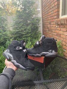 Nike Air Jordan 8 Retro Chrome (2015) Men's Size 12 [305381-003]